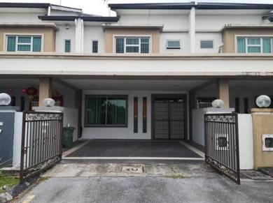 Double Storey Terrace House at Lotak Villas, Jalan Stephen Yong