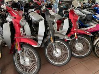 Wmoto cub classic 110 ready stock rugi jual