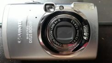 Camera canon digital ixus - faulty