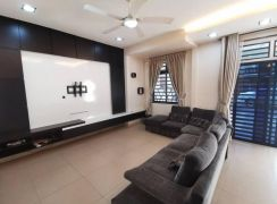 Nasa bestari 2 storey terrace house (near bukit indah) full loan
