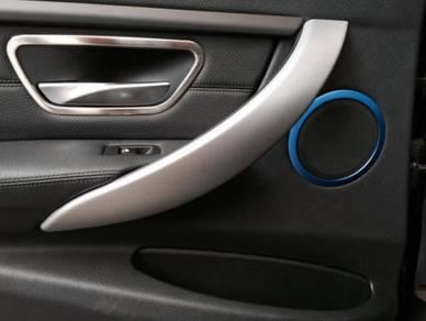 BMW F30 F32 Speaker Metal Deco Trims 4pcs