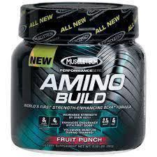 Muscletech BCAA Amino Build naik muscle