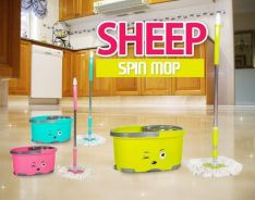 Sheep spin mop