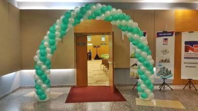 173) Arch Balloon Set 50pcs Helium