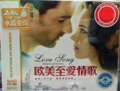 IMPORTED CD European & American Love Song 3CD