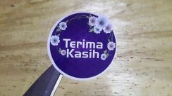 Stiker Doorgift / Wedding Terima Kasih