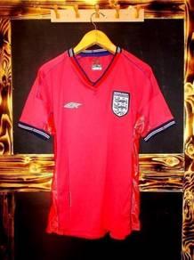 England world cup 2002 korea japan away jersey