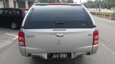 Nissan Navara 4X4 Canopy