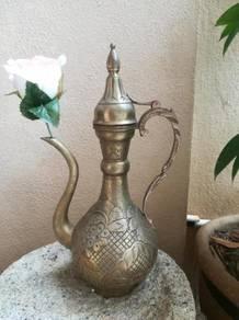 Ber1 Antique teapot teko temp Tembaga antik