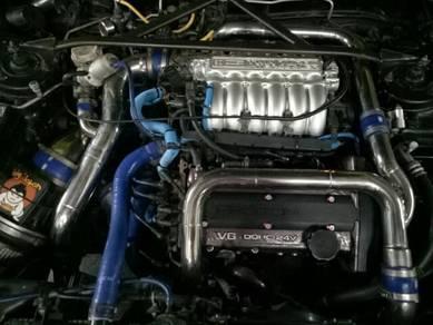 Enjin 6a12ttgearbox skli
