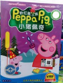 DVD Peppa Pig Season 3 (4DVD)