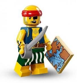 LEGO 71013 Minifigures Series 16 Scallywag Pirate