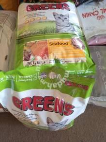 Supplyl GREENS Makanan Kucing