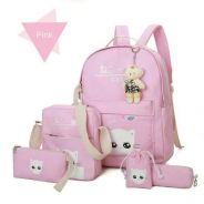 6 in 1 Daily Backpack for Girl -jr01