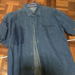 Baju Jeans Biru