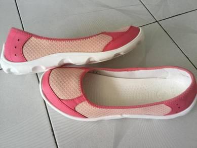 Kasut CROCS White Coral Rubber Shoes US 11 Saiz 42