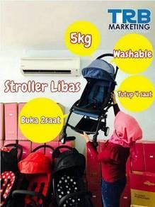 Stroller libazz super ringan di malaysia