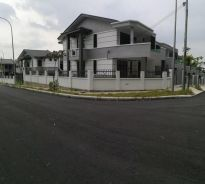 Double storey House in Seremban