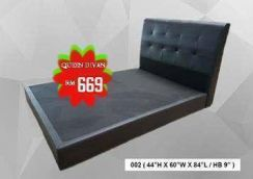 Queen size divan bed frame (model-04)20/06