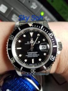 Rolex Submariner Date 16610 Patina Full Set