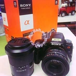 Sony A33 DSLR Full HD video recording