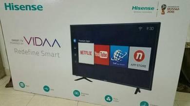 New Tv 55 inc Hisense Smart 4k UHD