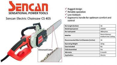 Sencan electric chain saw 16
