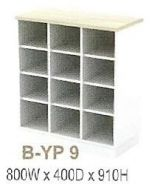 12 Compartment Pigeon Hole Cabinet Model: V-B-YP9
