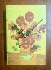 Book Shaped Jewellery Box Table Clock