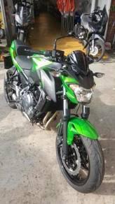 Kawasaki Z650 ABS 18 Free Gift Items Rebate