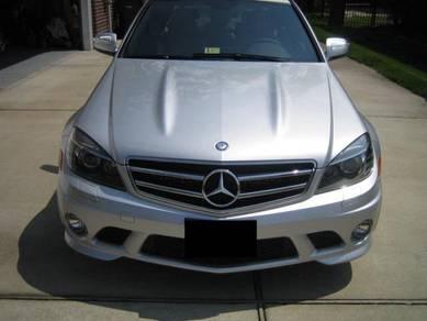 Mercedes W204 AMG C63 Front Hood Bonnet Bodykit