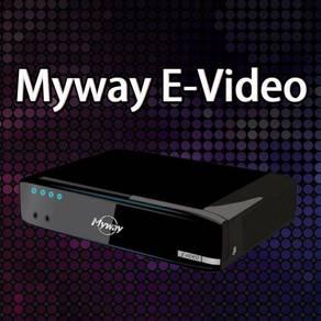 E-video + Touch Screen Karaoke System