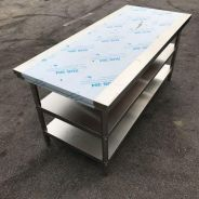 6 Ft stainless steel table ( meja )