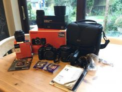 Sony a200 Digital SLR with 18-70mm F3.5-5.6 Kit