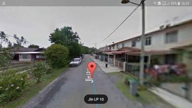 Single Storey Terrace House Lorong Pandan