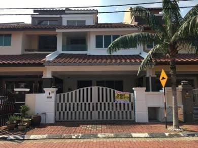 Double Storey House in Taman Perpaduan Mulia (Seri Garden), Ipoh
