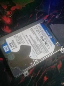 WD 1TB Laptop hdd