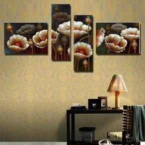 Blooming Flowers Canvas Art Set