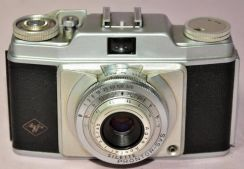 Antique agfa silette germany 35mm camera