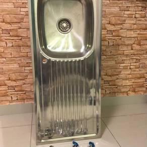 Faurex stainless steel kitchen sink