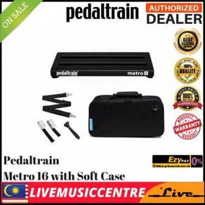 Pedaltrain PT-M16-SC Metro 16 Pedal Boards