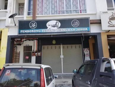 Ground Floor Shop lot - Bandar Putra, Kulai. Johor