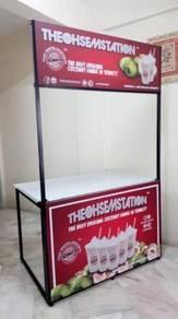PROMOSI!! Kiosk Lipat Stall Lipat Mudah Alih