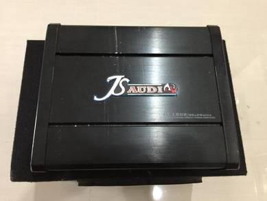 Car amplifier 2 channel c/w speaker box 12inch