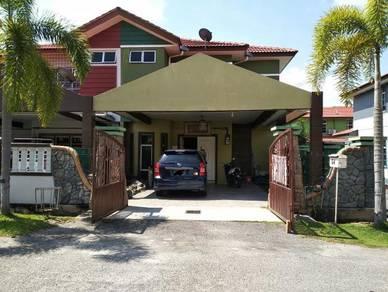Must view! 2 Storey End lot Taman Merak, Bukit Katil, Melaka