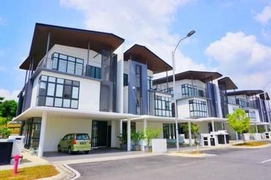 New unit 2.5 Semi D Augusta Residence, Presint 12, Putrajaya