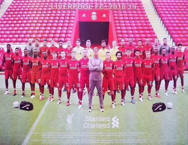 Poster LIVERPOOL TEAM PHOTO 18/19