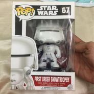 STAR WARS vinyl bobble-head