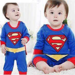 Cute Spiderman batman super hero baby clothing