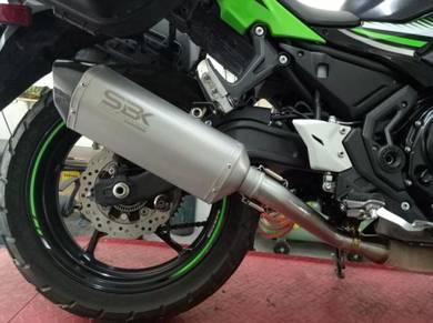 Ekzos SBK Kawasaki Ninja 650r Z650 Versys Exhaust